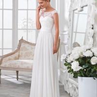 Свадебные платья с легкой юбкой