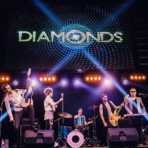 THE DIAMONDS cover band