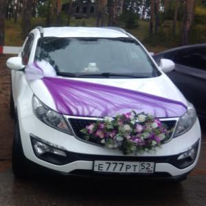 Авто Kia Sportage на свадьбу