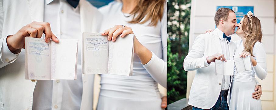 Свадебное платье не на торжественную регистрацию