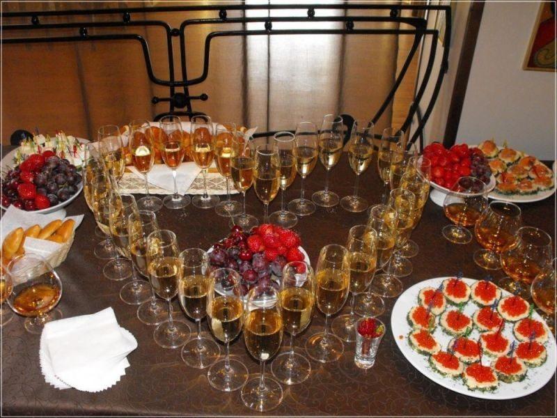 Свадебный стол своими руками рецепты