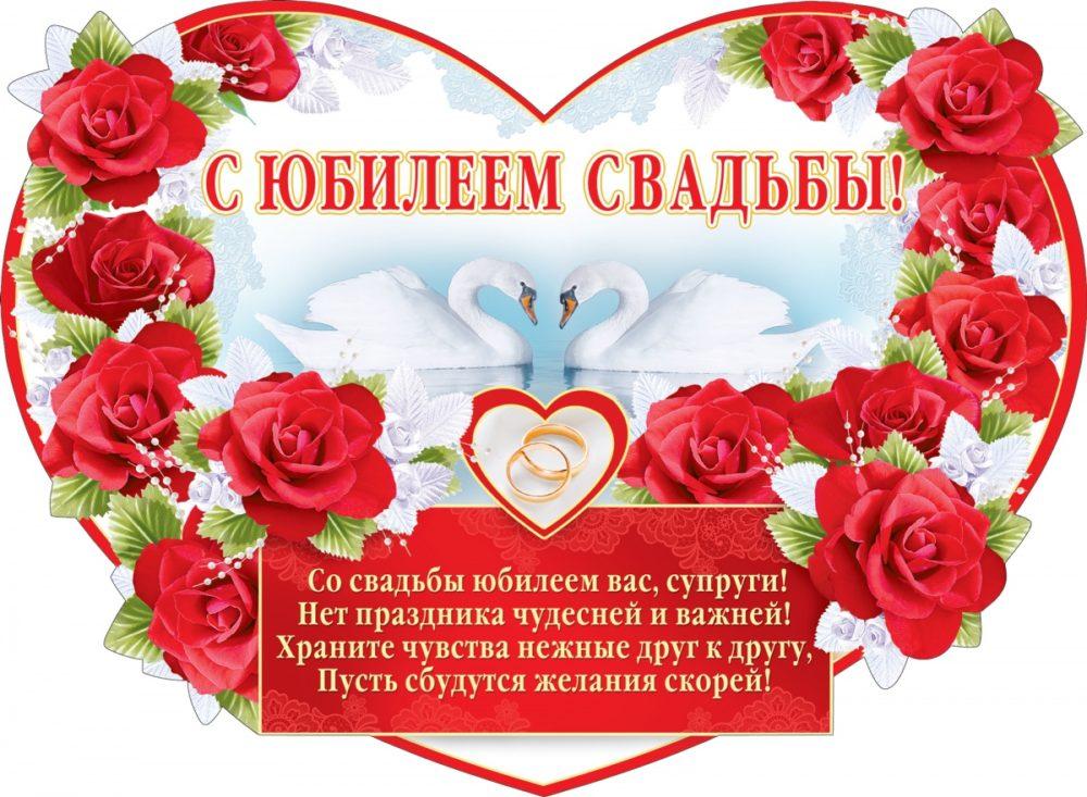 Поздравления с юбилеем годовщины свадьбы родителям 72