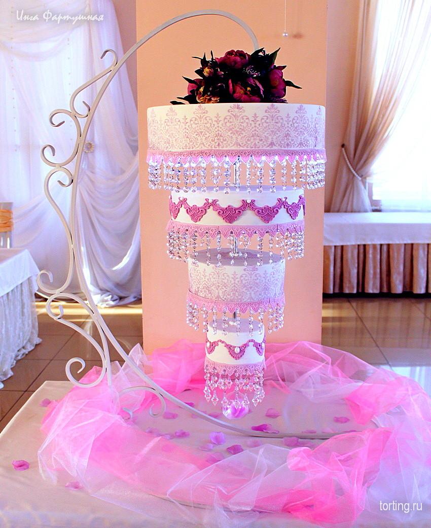 Подставка для многоярусного торта с подсветкой своими руками