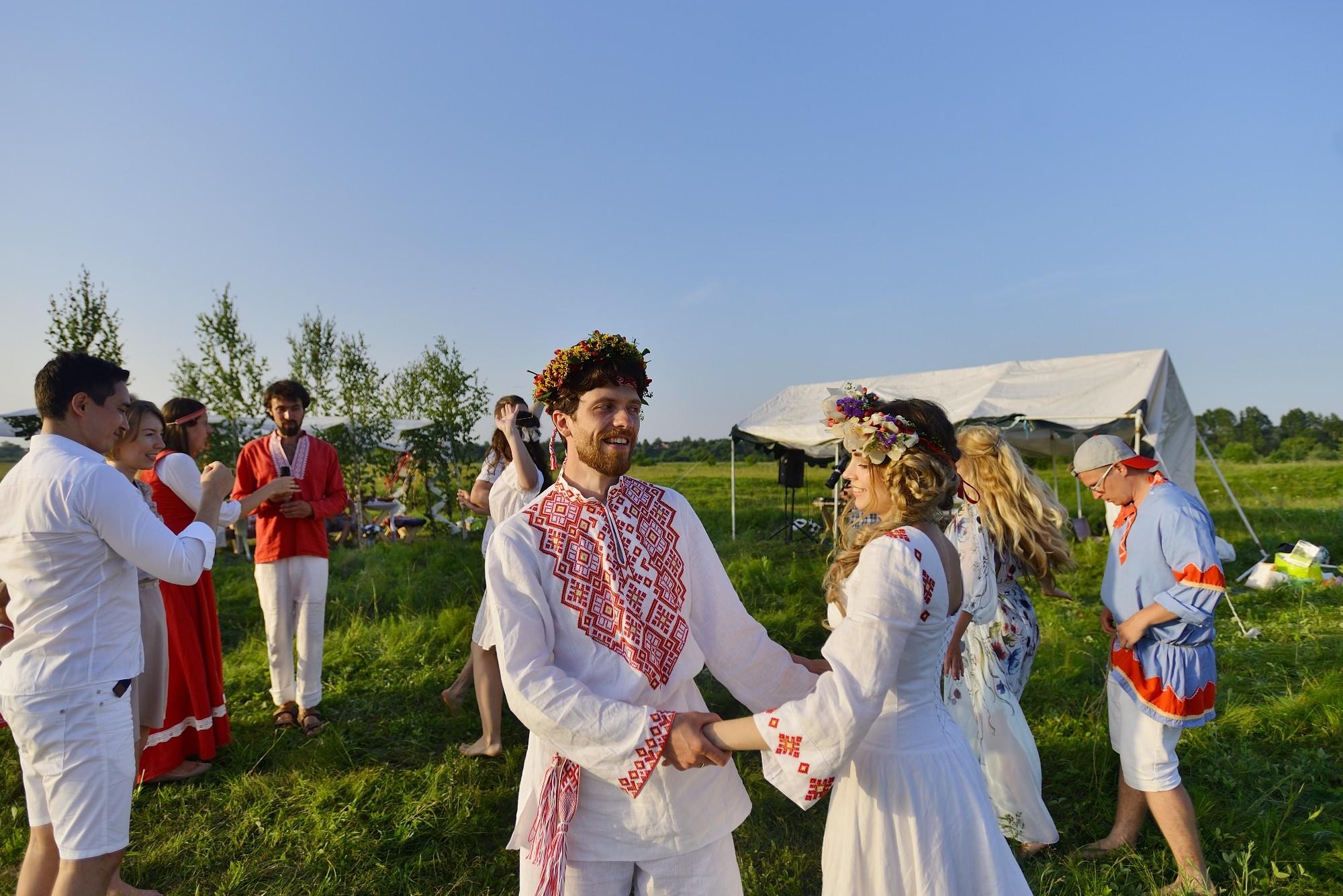 Старинные свадебные обряды в 1